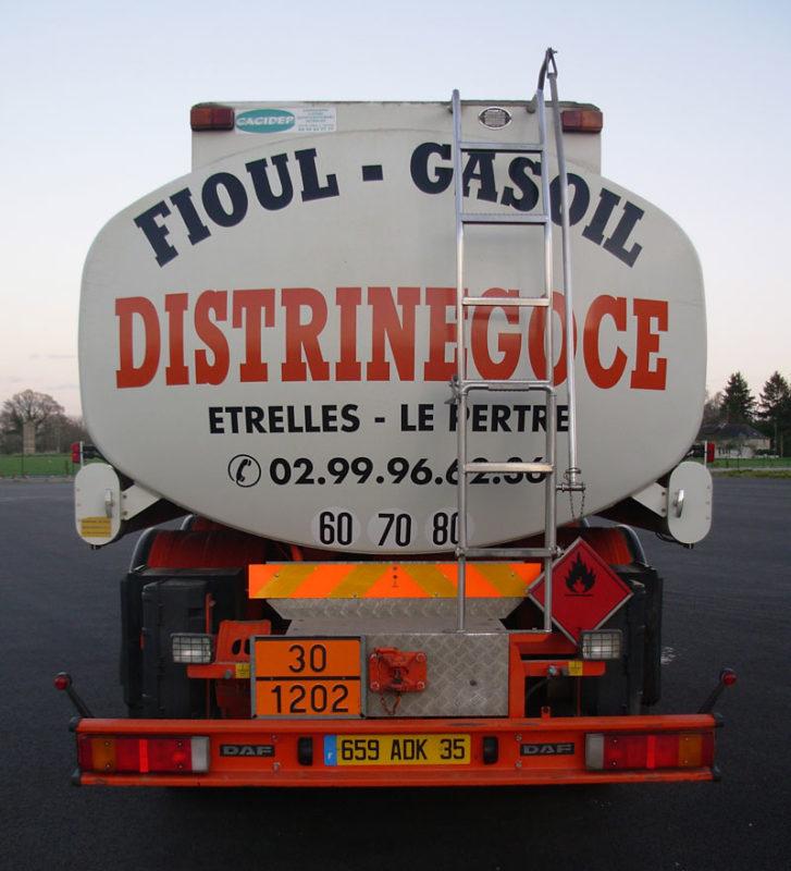 Livraison de Gasoil livraison fioul DISTRINEGOCE à Etrelles 35