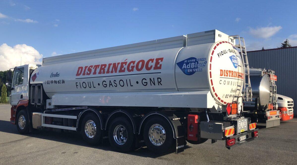 Distrinegoce livraison Fioul GNR ADblue